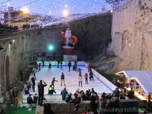 pista pattinaggio su ghiaccio San Marino