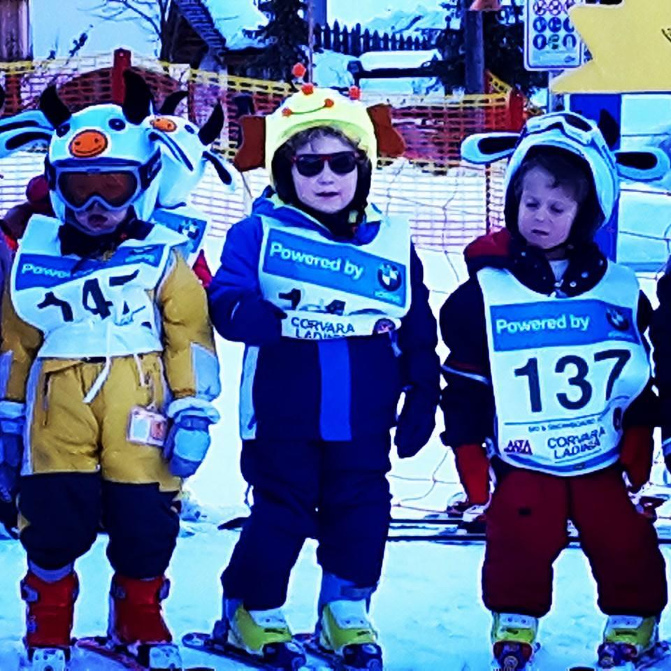 marco sugli sci