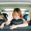 on the road con i bambini